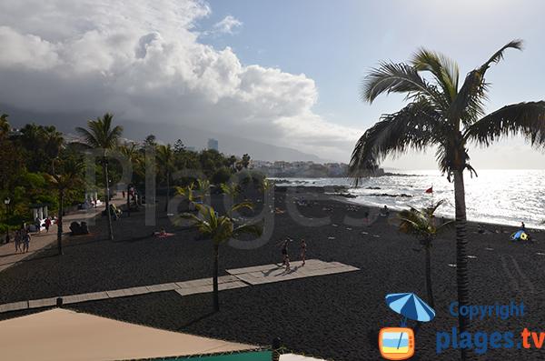 Plage du Jardin à Puerto de la Cruz - Canaries