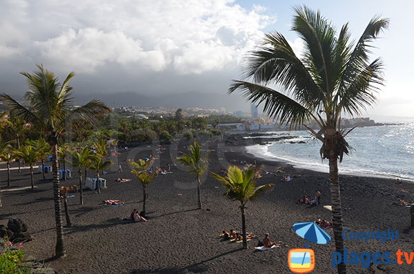 Grande Plage à Puerto de la Cruz - tenerife