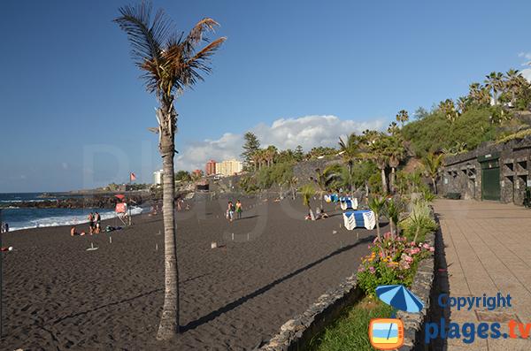 Deuxièmes plages du Jardin - Puerto de la Cruz