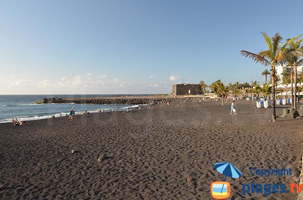 Photo de la plage du Jardin à Puerto de la Cruz à Tenerife - Canaries