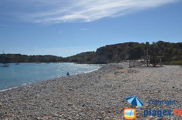 Plage surveillée à Ibiza - Jondal