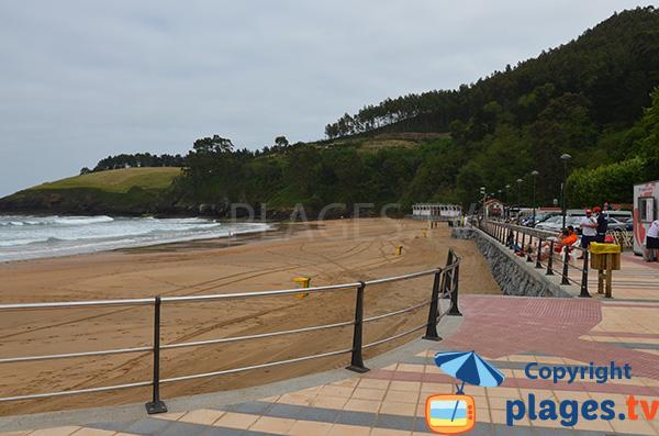Plage à côté de Lekeitio - Pays Basque