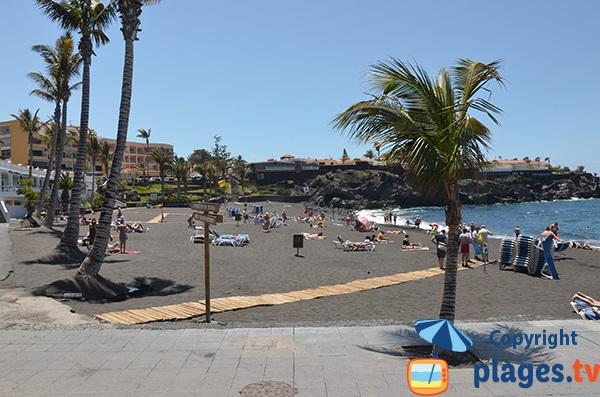 Plage de la Arena à Tenerife - Canaries