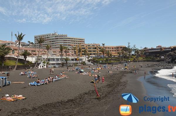 Baignade à La Arena - Tenerife