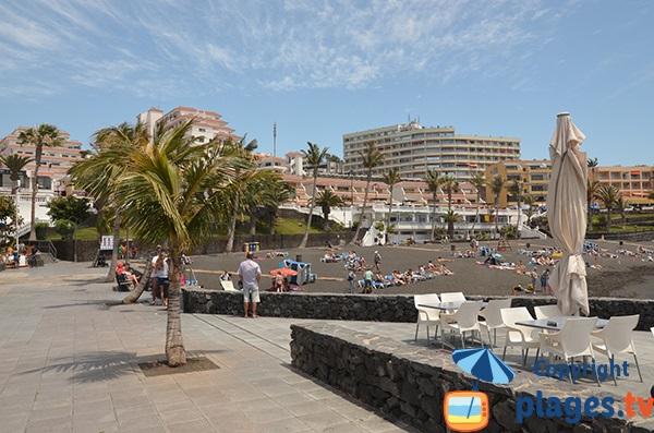 Restaurant sur la plage de La Arena - Tenerife