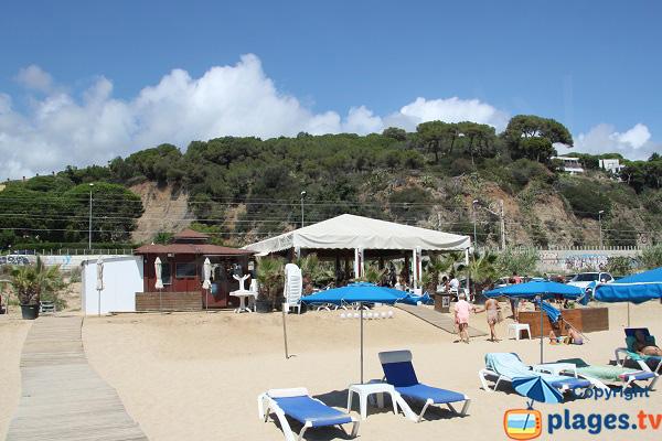 Restaurant de la plage de Arenys-de-Mar - Musclera