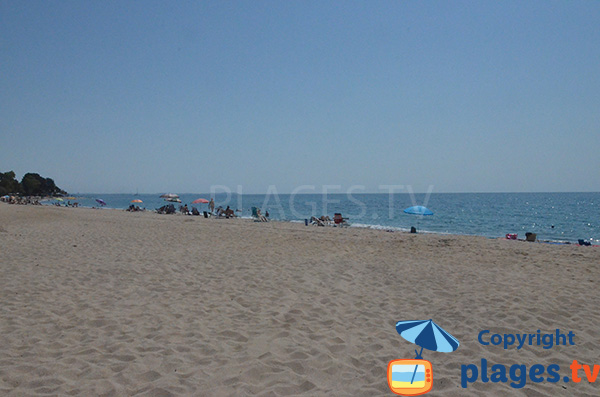 Photo de la plage de la Riviera à Mont Roig del Camp au sud de Tarragone