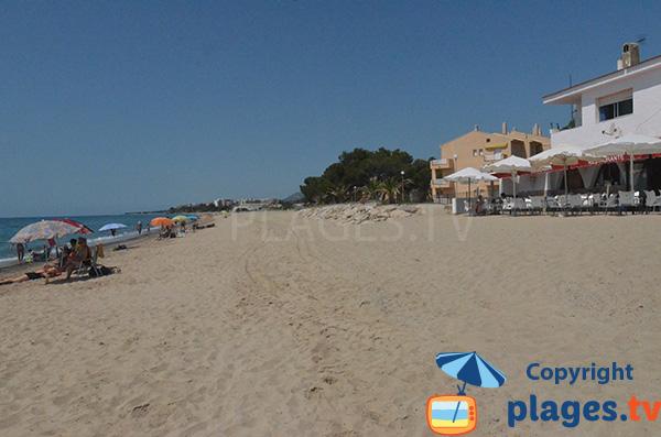Restaurant sur la plage de la Riviera - Tarragone