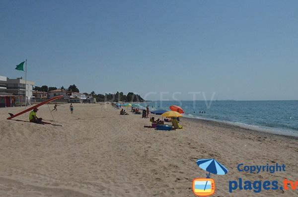 Plage au calme au sud de Cambrils - La Riviera