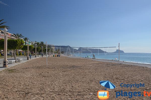 Photo de la plage La Roda à Altea - Espagne