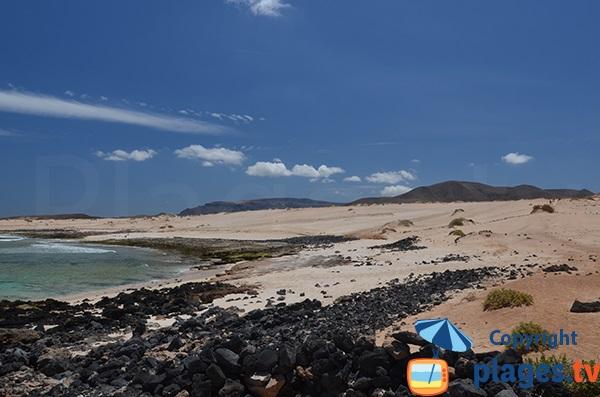Photo de la plage de Lambra à La Graciosa - Les Canaries