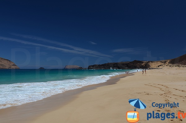 The most beautiful beach in Lanzarote - La Graciosa