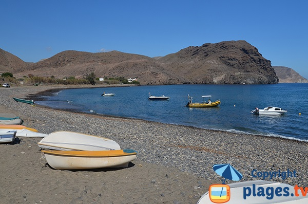 Galets de la plage de Las Negras - Espagne