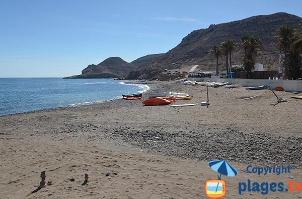 Plage de sable à Las Negras - Espagne