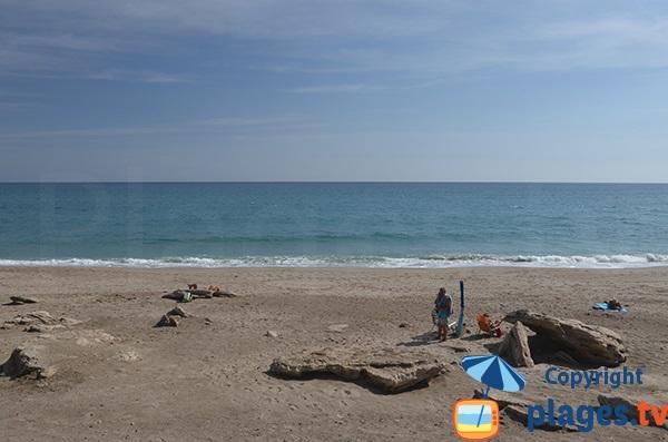Photo de la plage de Las Ventanicas à Mojacar - Espagne
