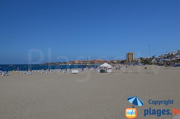 Photo de la plage de Las Vistas à Los Cristianos à Tenerife