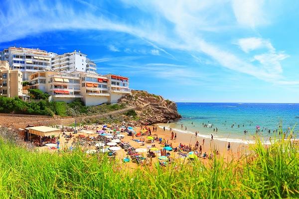 Photo de la plage de Llenguadets à Salou en Espagne
