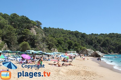 Lloret de Mar in Spain on the Costa Brava