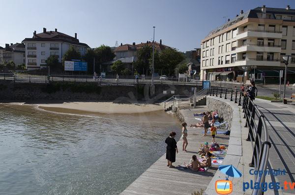 Plage de Los Barcos à Isla-Playa en Espagne