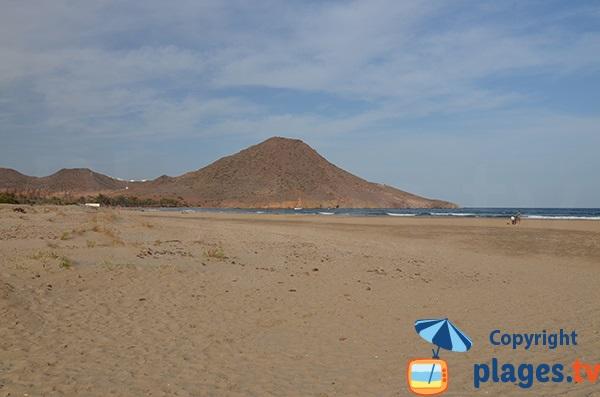 Grande plage sauvage de San Jose - Espagne