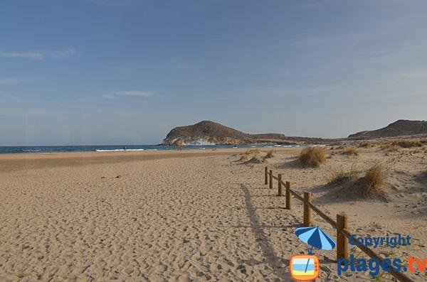 Photo of Los Genoveses beach in San Jose - Spain