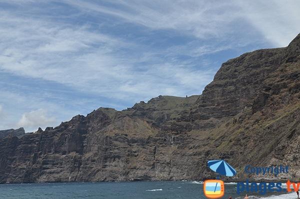 Falaises de Los Gigantes à Tenerife