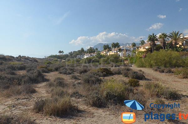 Urbanisation de Bahia de Marbella en bord de plage