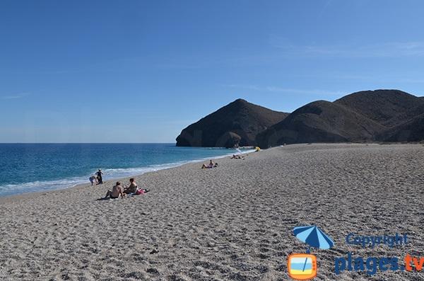 Plus belle plage de Carboneras