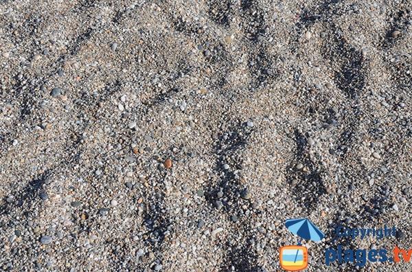 Gravier de la plage de Los Muertos - Andalousie
