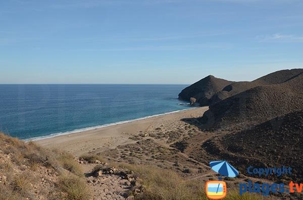 Photo de la plage Los Muertos en Andalousie - Espagne