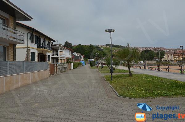 Maisons à Luanco à bord de plage - Espagne