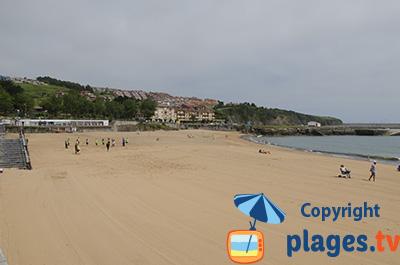 Plage à Luanco - Espagne