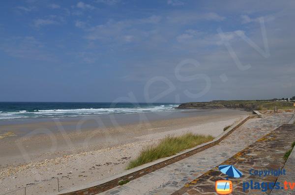 Photo de la plage de Malata à Barreiros