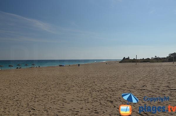 Photo de la plage de la Marina de la Torre à Mojacar