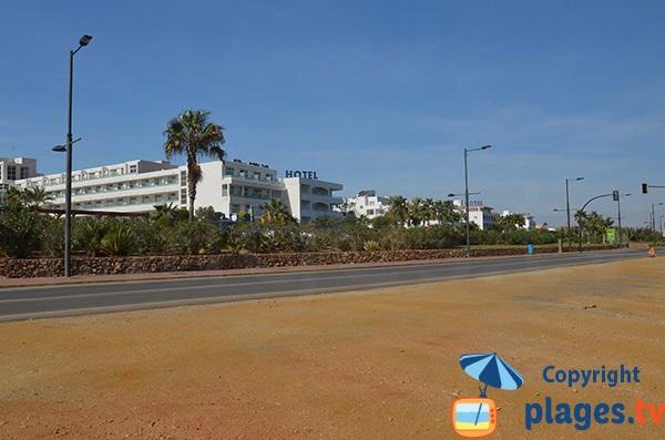 Environnement de la plage de Marina de la Torre - Mojacar