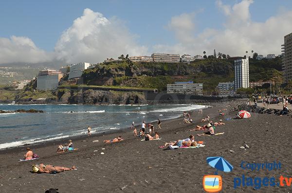 Photo de la plage de Martianez à Puerto de la Cruz - Tenerife