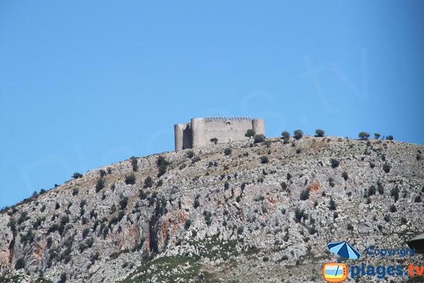 Chateau de Montgri - Espagne