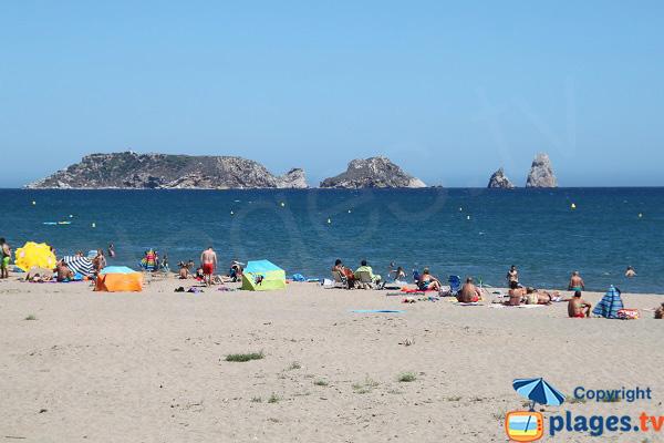 Photo de la plage de Mas Pinell en Espagne - l'Estartit