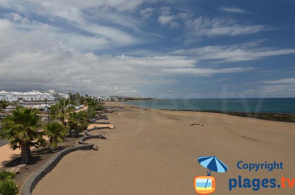 Photo de la plage de Matagorda à Puerto del Carmen - Lanzarote