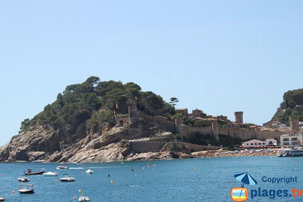 Citadelle de Tossa de Mar - Costa Brava