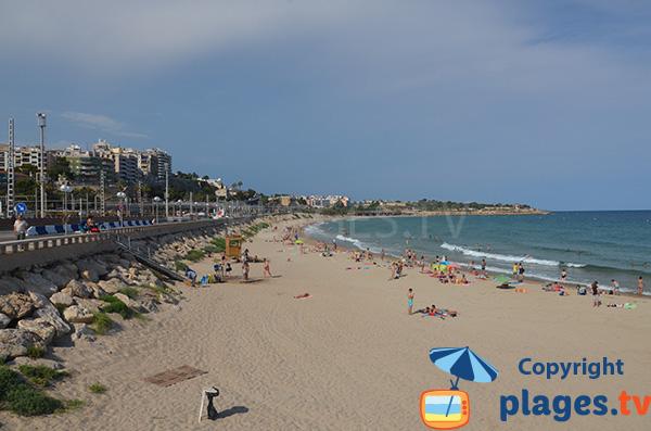 Photo of Miracle beach in Tarragona in Spain
