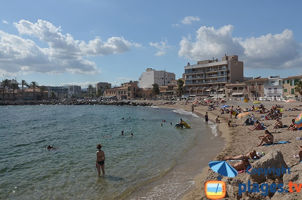 Plage de Molinar à Palma de Majorque