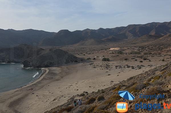Plage de Monsul à San José - Andalousie - Espagne - Avis et Photos - Plages.tv