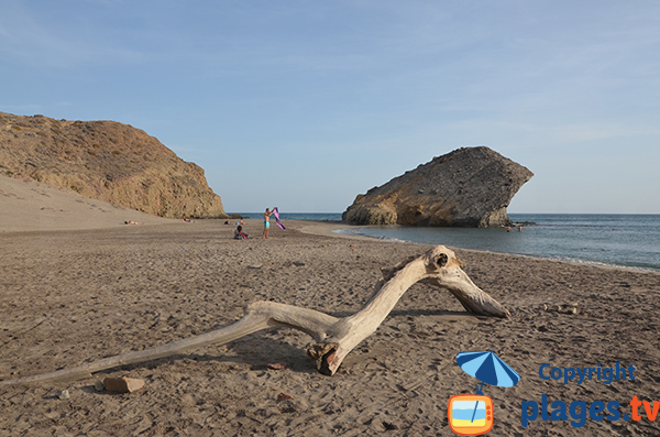 Rocher d'Indiana Jones - Espagne - Playa del Monsul
