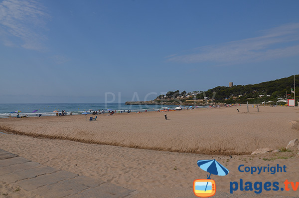 Photo de la plage de Mora - Tarragone