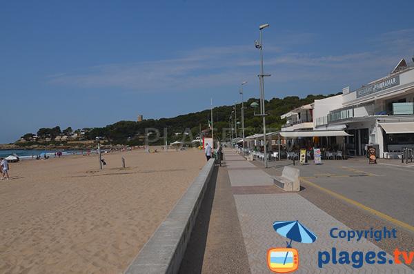 Photo of Mora beach inTarragona in Spain