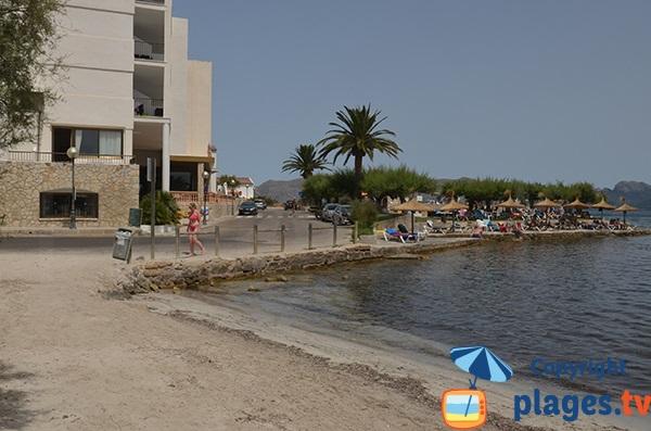 Hotel à côté de la plage de Morer Vermell à Alcudia