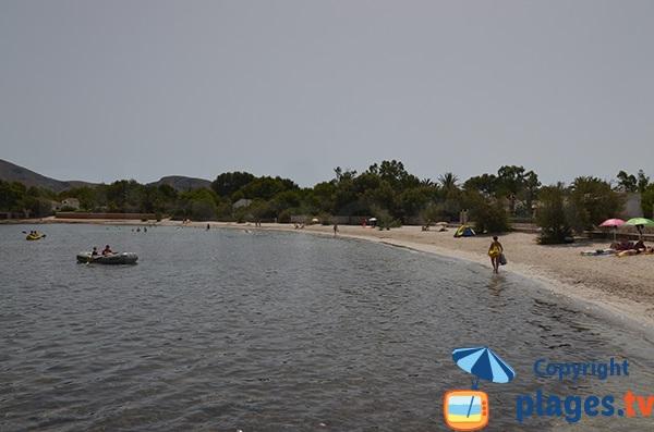 Photo de la plage de Morer Vermell à Alcudia