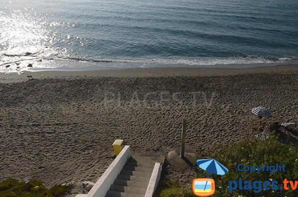 Accès à la plage de Morera - Benalmadena