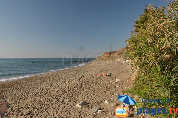Photo de la plage de Morera à Benalmadena - Espagne